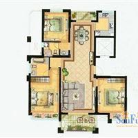 3室2厅2卫  142平米