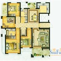 4室2厅2卫  161平米