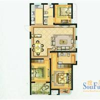 3室2厅2卫  137平米
