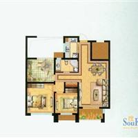 2室2厅1卫  98平米