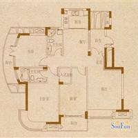 2室2厅2卫  137平米