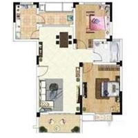 2室1厅1卫  78平米